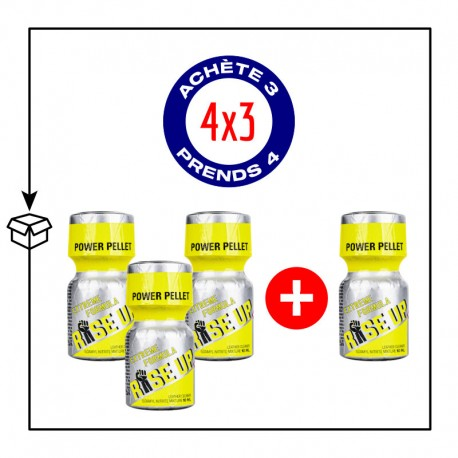 PACK 4 POPPERS RISE UP 10ML